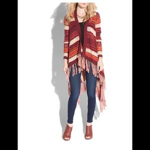 Lucky Brand Sweater Duster